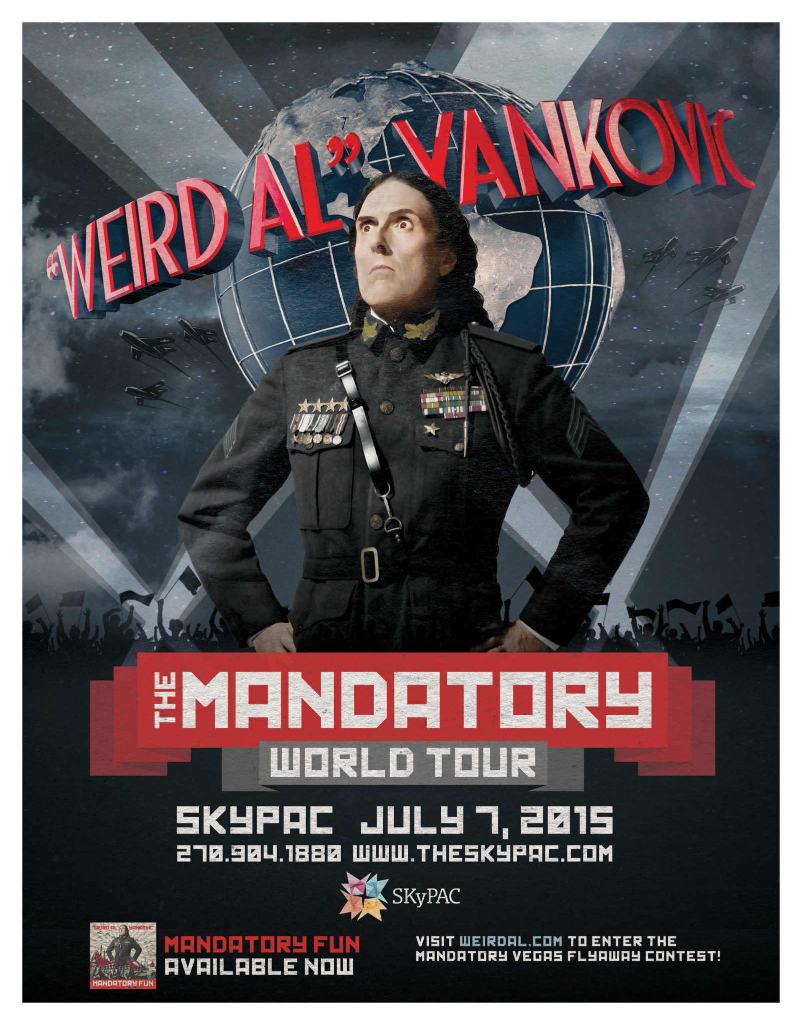 Weird Al' Yankovic tour will include Bowling Green show