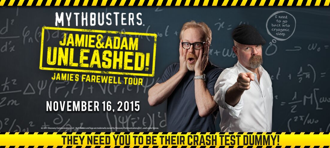 Mythbusters Jamie & Adam UNLEASHED!