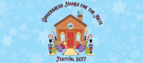 Gingerbread Homes for the Arts Festival
