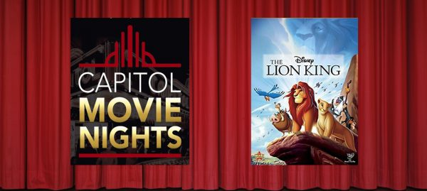 Capitol Summer Movies: The Lion King